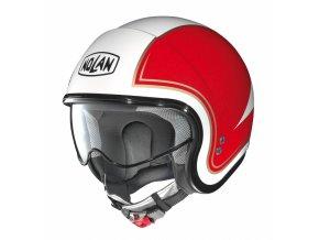 Moto helma Nolan N21 Tricolore Metal White 31 - S