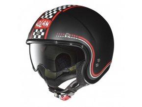 Moto helma Nolan N21 Lario Flat Black 2