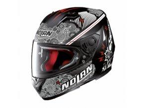 Moto helma Nolan N64 Let´s Go Flat Black 91