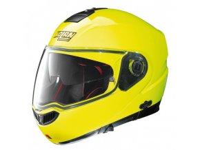 Moto helma Nolan N104 Absolute Hi-Visibility N-Com Fluo Yellow 22