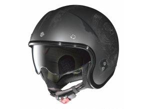Moto helma Nolan N21 Speed Junkies Flat Asphalt Black 33