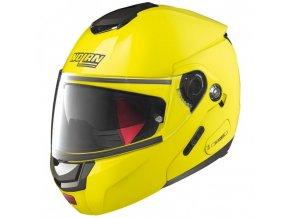 Moto helma Nolan N90-2 Hi-Visibility N-Com Fluo Yellow 22 - XL