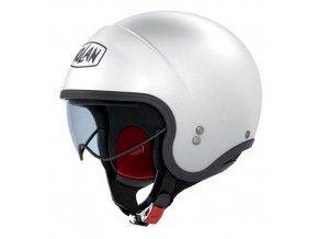 Moto helma Nolan N21 Classic Metal White 5 - M