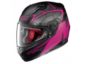 Moto helma Nolan N64 Hexagon Flat Black 87