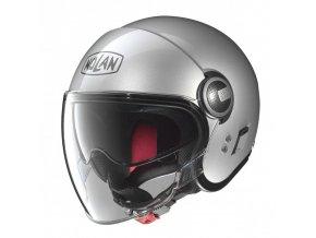 Moto helma Nolan N21 Visor Classic Platinum Silver 1 - 2XL