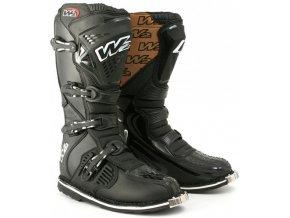 Pánské moto boty W2 E-MX6 černé