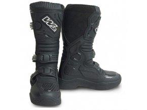 Dětské moto boty MX Black - 34