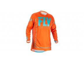 dres LITE 2018, FLY RACING - USA (oranžová/modrá)