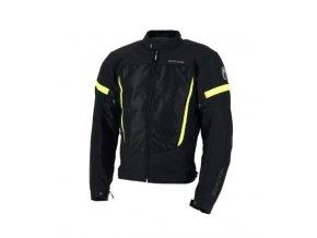 Pánská bunda RICHA AIRBENDER černo/žlutá