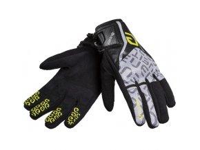 Moto rukavice ELEVEIT RT1 černo/žluté