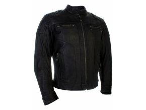 Moto bunda RICHA DETROIT černá nadměrná velikost