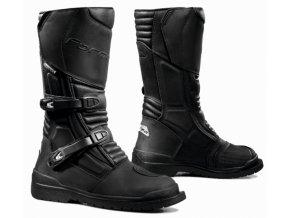 Moto boty FORMA CAPE HORN WP černé