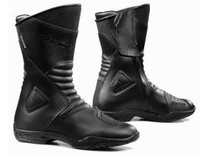Moto boty FORMA MAJESTIC WP černé