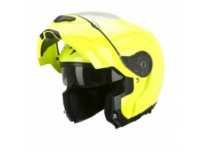 Moto přilba SCORPION EXO-3000 AIR neonově žlutá