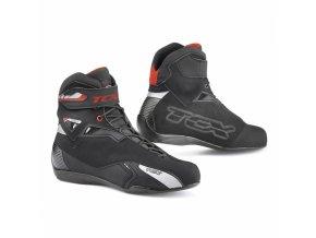 Moto boty TCX RUSH WP černé