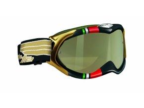 Brýle ARNETTE DESTROYER FREESTYLE WING černé/zlaté sklo + čiré sklo UNI