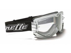 Brýle ARNETTE SERIES 1 stříbrné + čiré sklo UNI