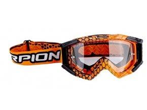 Brýle SCORPION E16 oranžovo/černé UNI
