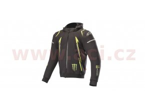 bunda MERCURY TECH HOODIE limitovaná edice MONSTER, ALPINESTARS vel. XL