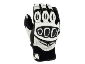 Moto rukavice RICHA TURBO GLOVE bílé