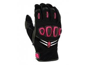 Dámské moto rukavice RICHA TURBO GLOVE růžové