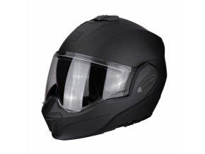 Moto přilba SCORPION EXO-TECH solid černá matná