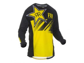 dres Kinetic ROCKSTAR 2019, FLY RACING - USA (rockstar žlutá/černá)