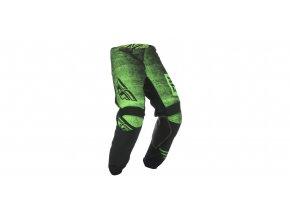 kalhoty KINETIC NOIZ 2019, FLY RACING - USA (zelená/černá)