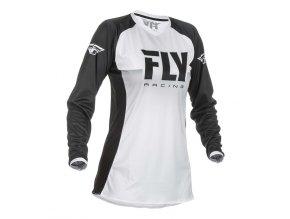 dres LITE 2019, FLY RACING - USA dámský (bílá/černá)