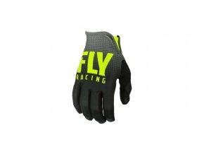rukavice LITE 2019, FLY RACING - USA (černá/žlutá fluo)