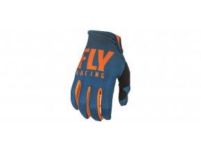 rukavice LITE 2019, FLY RACING - USA (oranžová/modrá)