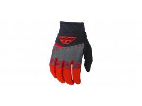 rukavice F-16 2019, FLY RACING - USA (červená/černá/šedá)