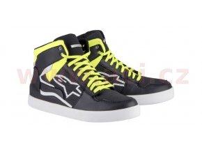 boty STADIUM, ALPINESTARS (černá/žlutá fluo/červená)