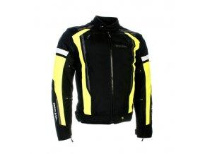 Moto bunda RICHA AIRSTREAM 2 černo/žlutá