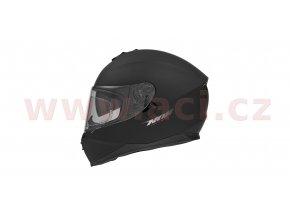 přilba N302, NOX (černá matná)