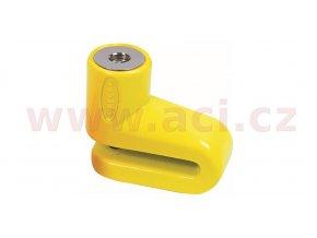 zámek kotoučové brzdy Junior, OXFORD - Anglie (žlutý)