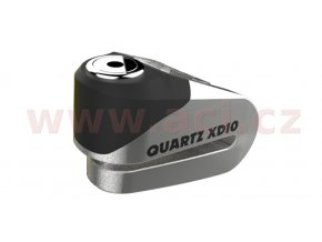 zámek kotoučové brzdy Quartz XD10, OXFORD - Anglie (broušený kov, průměr čepu 10mm)