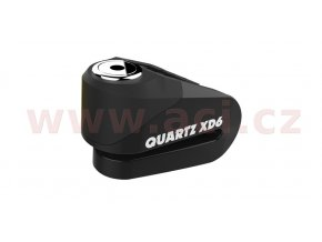zámek kotoučové brzdy Quartz XD6, OXFORD - Anglie (černý, průměr čepu 6mm)