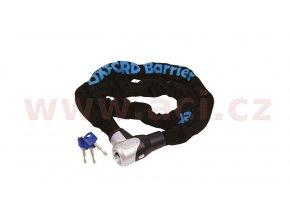 řetězový zámek na motocykl Barrier s otočnou hlavicí o 360°, OXFORD - Anglie (délka 1,5m)