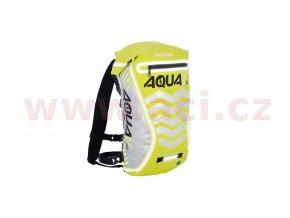 vodotěsný batoh Aqua V20 Extreme Visibility, OXFORD - Anglie (žlutá fluo/reflexní prvky, objem 20l)