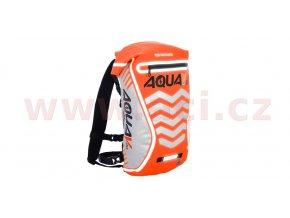 vodotěsný batoh Aqua V20 Extreme Visibility, OXFORD - Anglie (oranžová fluo/reflexní prvky, objem 20l)