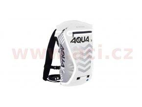 vodotěsný batoh Aqua V20 Extreme Visibility, OXFORD - Anglie (bílá/šedá/reflexní prvky, objem 20l)