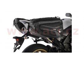 boční brašny na motocykl P50R, OXFORD - Anglie (černé, objem 50l, pár)