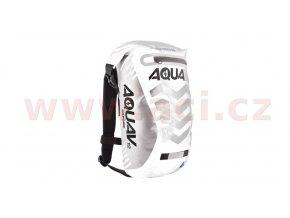 vodotěsný batoh Aqua V12 Extreme Visibility, OXFORD - Anglie (bílá/šedá/reflexní prvky, objem 12l)