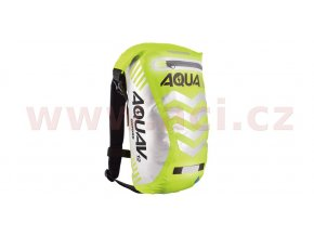 vodotěsný batoh Aqua V12 Extreme Visibility, OXFORD - Anglie (žlutá fluo/reflexní prvky, objem 12l)