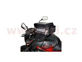 tankbag na motocykl F1 Magnetic, OXFORD - Anglie (černý, objem 18l)