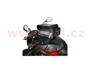 tankbag na motocykl F1 Magnetic, OXFORD - Anglie (černý, objem 35l)