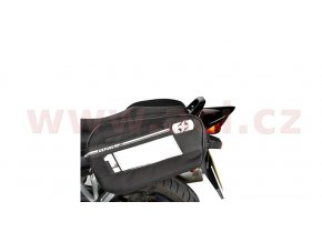 boční brašny na motocykl F1, OXFORD - Anglie (černé, objem 45l, pár)
