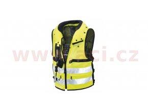 vesta s krčním airbagem NECK DPS VEST, SPIDI - Itálie (žlutá)