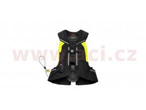 vesta s airbagem FULL DPS VEST celotělová, SPIDI - Itálie (černá/žlutá fluo)